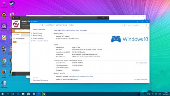 Aktywowany Windows 10